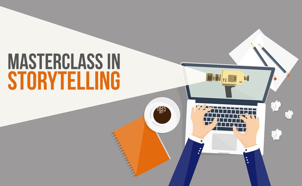 Masterclass in Storytelling 16th May 2019