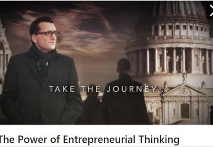The Power of Entrepreneurial Thinking Case Study 2019