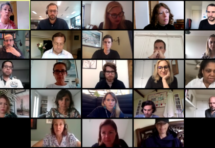Jurors Come Together on Zoom for the WMA2020 Virtual Judging Day