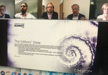CIM Financial Services Marketing Leaders' Summit 2020 Round Up